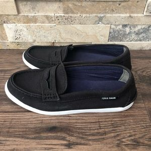 Cole Haan Canvas Slip on Loafers Removable…